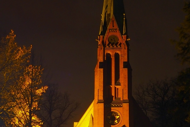 Kirche Reinbek - Orange your city 2017