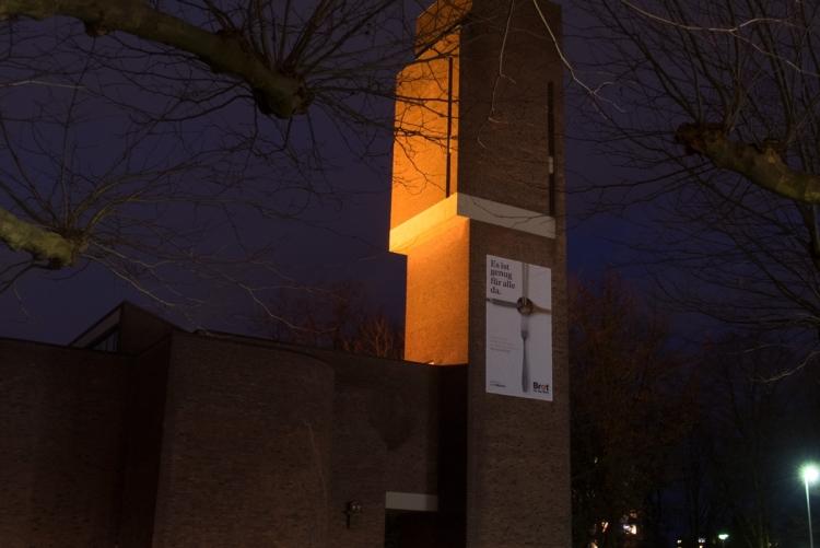 Nathan Söderblom Kirche, Reinbek - Orange your city 2017