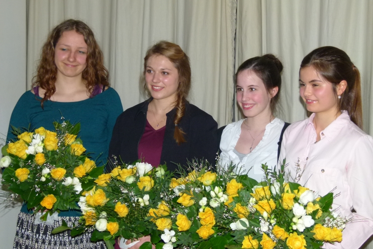 YWPA Teilnehmerinnen